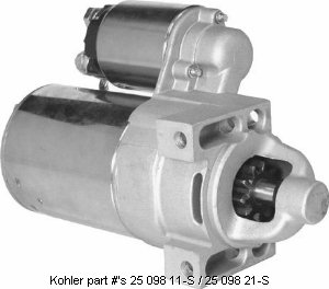electrical solutions for small engines and garden pulling tractors high torque gear starter motors for kohler v twin engine models ch12 5 ch13 ch14 ch15 ch18 ch20 ch22 ch25 cv12 5 cv15s cv16 cv18 cv20 cv22