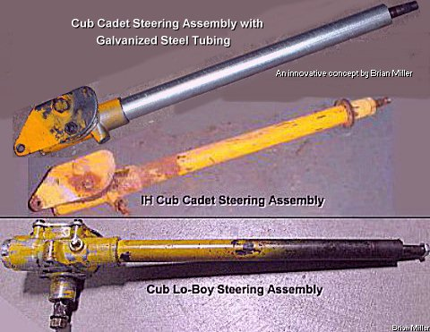 How to Repair, Improve and Modify the Steering on a Cub
