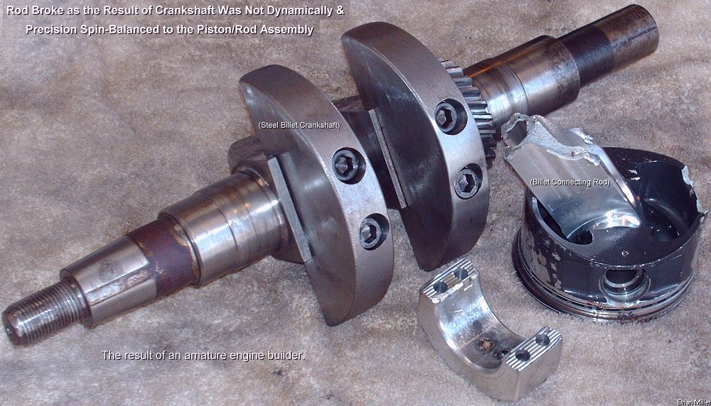 How to Balancing a Single Cylinder Engine Crankshaft and Piston