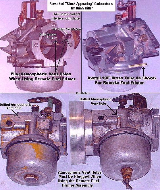 Information About Carburetors Fuel Systems And Various