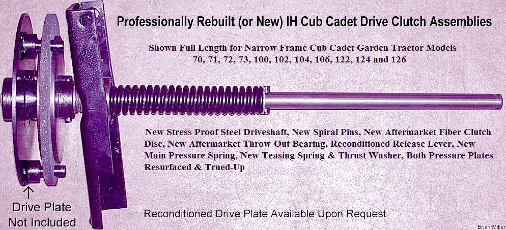 How to Rebuild and Improve the Cub Cadet Drive Clutch Assembly
