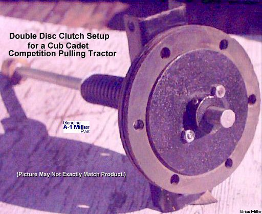 Cub Cadet Pulling Tractor Clutch : Improving the drive clutch assembly in a cub cadet
