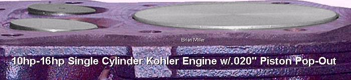 Professional Kohler Engine Rebuilding, Buildups and Modifications