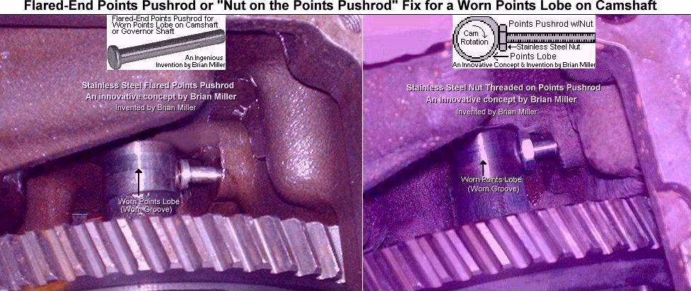 Points Pushrod w/Nut