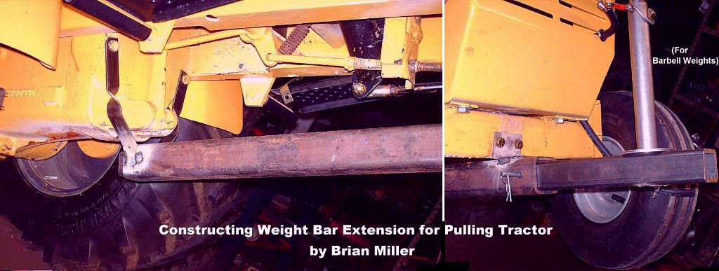 How to Weight a Garden Pulling Tractor and the Use of Wheelie Bars – Garden Tractor Pulling Sled Plans