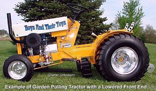 How To Weight A Garden Pulling Tractor And The Use Of Wheelie Bars