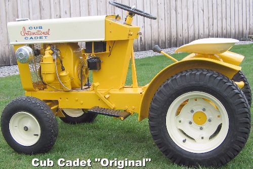 "International Harvester`s ""Original"" (belt-to-clutch-drive) Cub  Cadet"